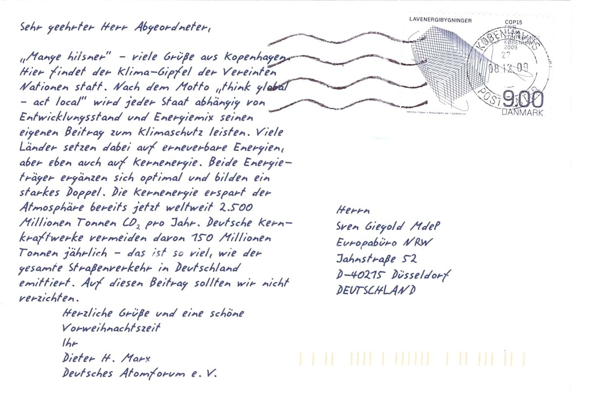 PostkarteKopenhagenDtAtomforum_Rück
