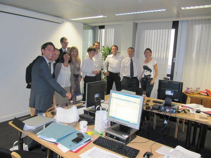 Von diesem Team hängt die Zukunft des Europäischen Bankensystems ab. Sie koordinieren den EU-Bankenstresstest