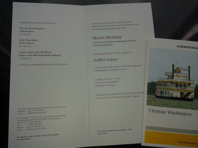 Einladung der Commerzbank