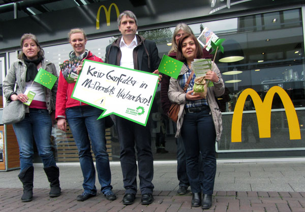 McDonalds Aktion Leverkusen
