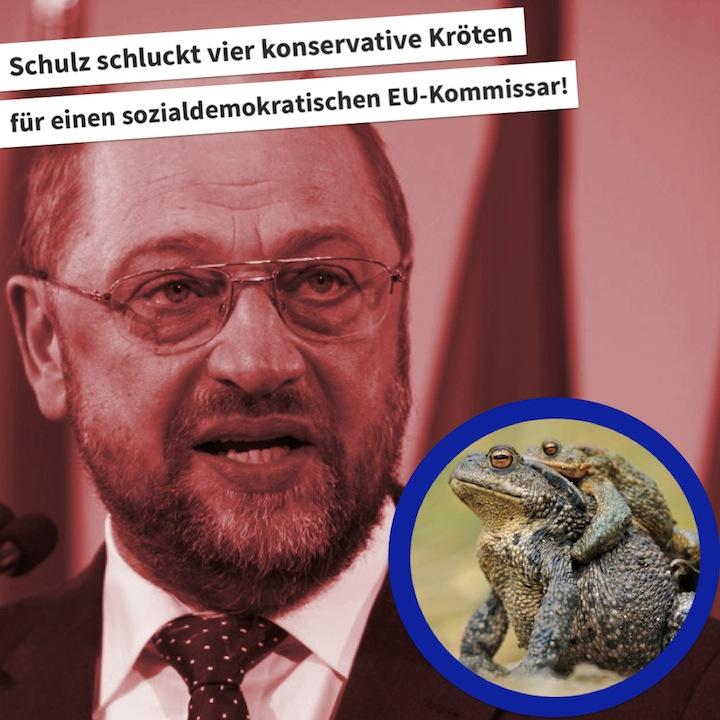 Schulz' Sozialdemokraten mussten zu viele konservative Kröten schlucken
