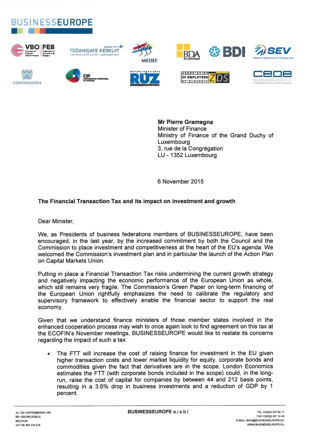 2015-11-06-Letter-on-FTT-to-ECOFIN-Council-November---Min--Gramegna---LU-1