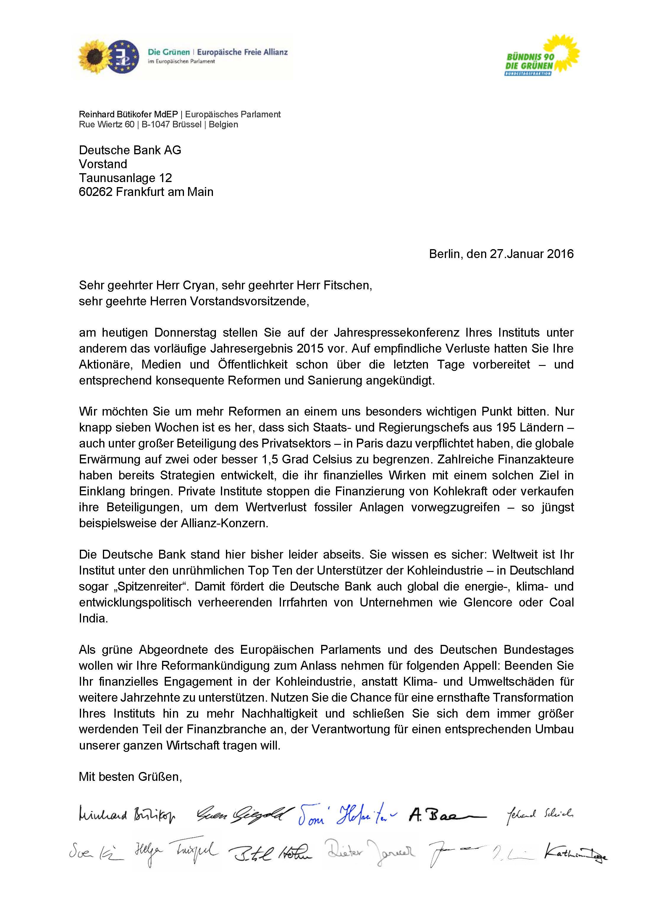 20160127_Offener Brief Deutsche Bank