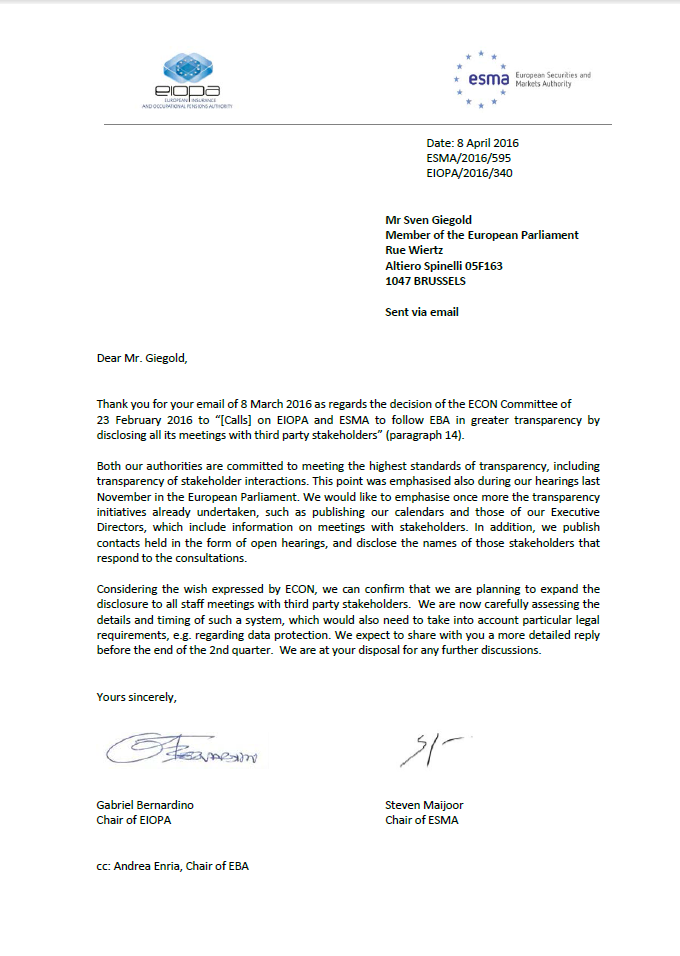 Joint EIOPA ESMA letter as pic