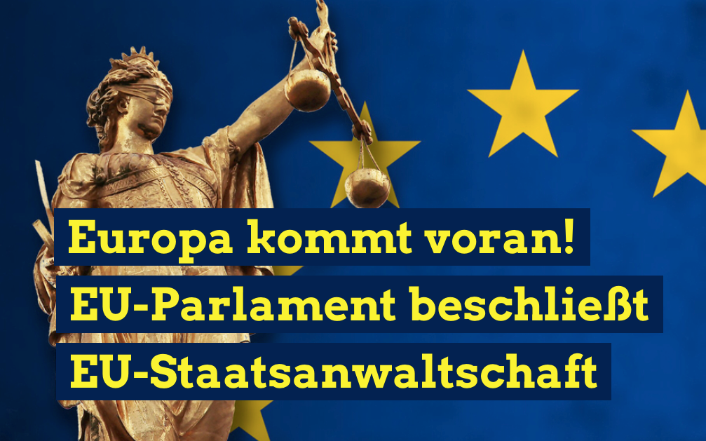 EU-Parlament beschließt EU-Staatsanwaltschaft