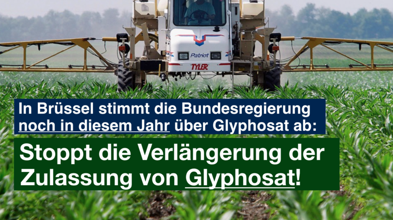 Glyphosat Petition Sharepic