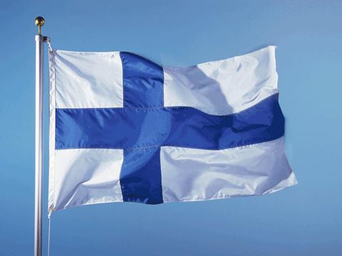 Flagge Flag Finland (image: EU Commission)