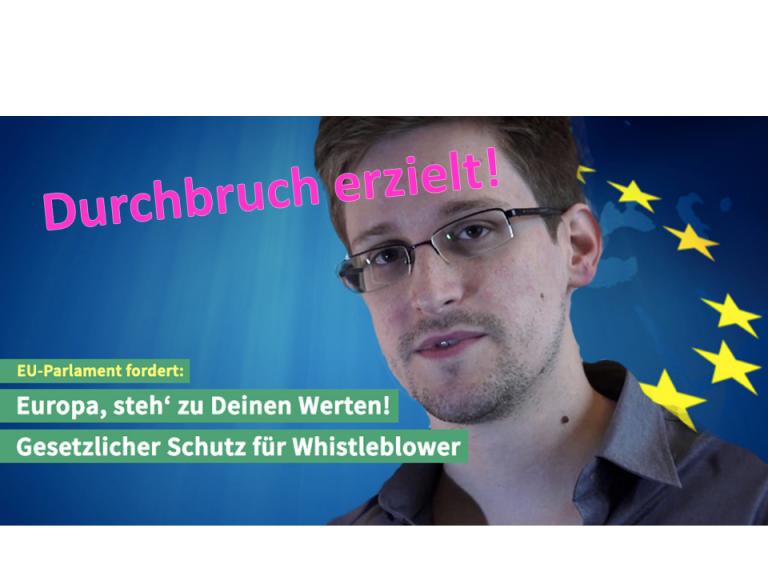 Whistleblower Erfolg im Trilog