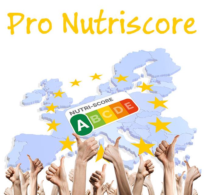 Logo der Europäischen Bürgerinitiative Pro Nutriscore, für die Lebensmittelampel